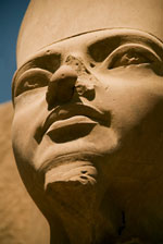 photo of Egyptian statue