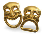 picture of theatre masks